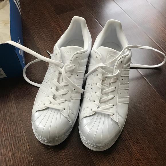 Brand New Adidas Superstar Glossy Toe